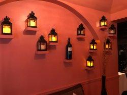 Inside restaurant!