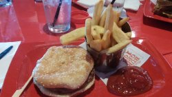 Burger and fries!!!!!!!!!