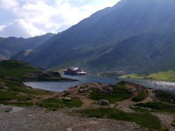 Balea Glacier Lake