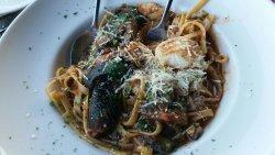 Seafood Pasta Pomodoro
