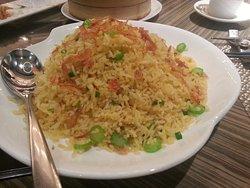 Sakura shrimp fried rice.
