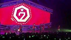 GOT7 concert in July of 2016
