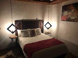 Habitación pequeña pero límpia y confortable