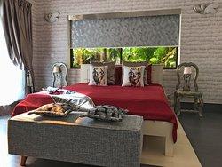 White Buffalo Guest Bedroom