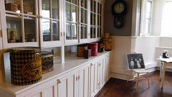 Newly restored kitchen