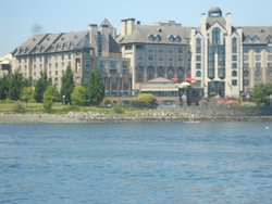 Delta Hotel from Water Taxi