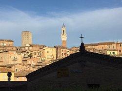 Pizza in Siena