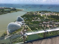 Panoramic view of Singapore!
