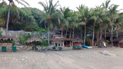 Nice and peaceful beach area