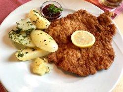 Rinderbraten, Schweine Schnitzel, Steak Tartare