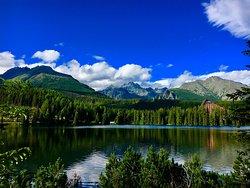 Štrbské Pleso Jezero