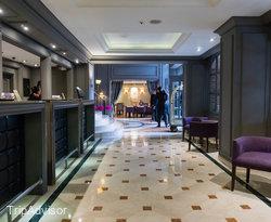 Lobby at the Sofitel Bogota Victoria Regia
