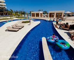 The Pool - 2 - Lazy River at the Royalton Blue Waters