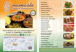 Namaste Indian Restaurant ( HALAL, VEGETARIAN AND VEGAN )