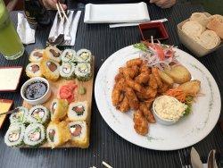 Buen sushi y buena atención