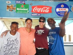 Great to experience local culture; best cracked conch and conch salad anywhere!