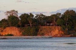 Ended our 3 week safari in the lovely place right on the beautiful Rufiji River!