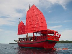 The Chinese Junk Boat Tour