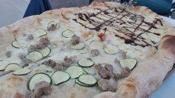 Dettaglio della pizza