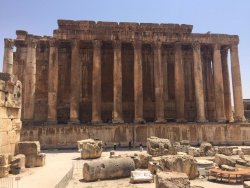 Baalbek Roman Ruins