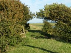 The wonderful west coast of England, where Gramsford Lodge, right on the trail in the centre of