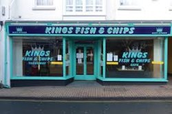 Kings fish and chips cafe
