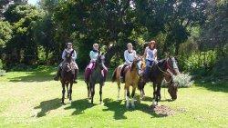 Horseback riding Sucre en bella vista