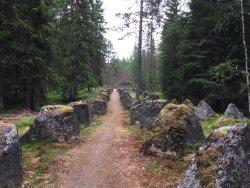 Lomkällan, Särna skogsmuseum
