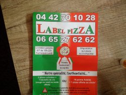 Label Pizza