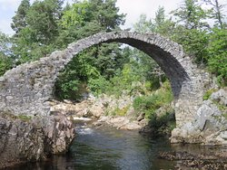 The Old Packhorse Bridge