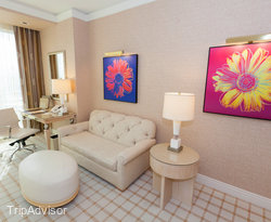 The Deluxe Resort Room at the Wynn Las Vegas