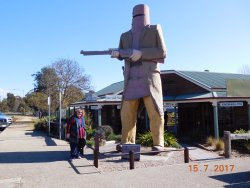 The Big Ned Kelly Statue
