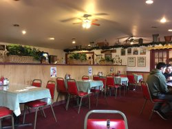 Quaint diner with very good food and service.
