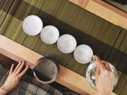 Daily Free Tea Bowl Meditation is open for everyone