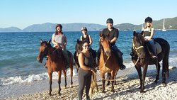Kefalonia's Horse Riding Stable