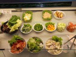 Salad fresh ala bistro deli  🥗 Cocok untuk yg sedang menjalani program diet 💪 💪  Happy sunday