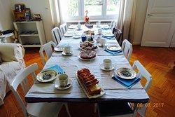 Das Frühstück steht bereit