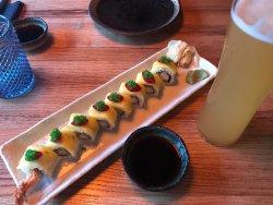 Tasty fish and rolls