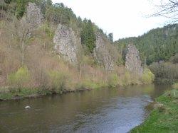 Скалы на Орже