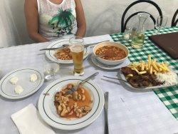 Comida típica portuguesa