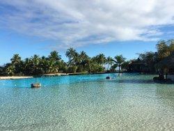 Grand et bel hôtel à tahiti