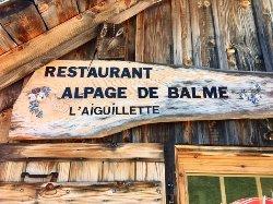 L'Alpage de Balme