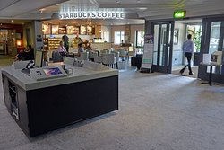 Check In / Out & Starbucks