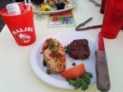 steak and potato