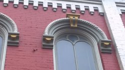 Check out the rope detail in the window molding. Possible hemp warehouse.