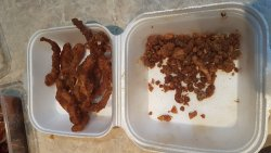 This is the deep fried squid!