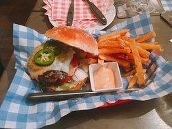 Wonderful burgers and fantastic service
