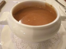 香濃滑溜的龍蝦湯