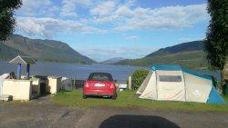 First class Campsite in astounding beauty