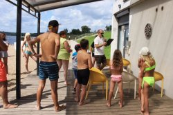 Every week is going active events at Kaunas Camp Inn.